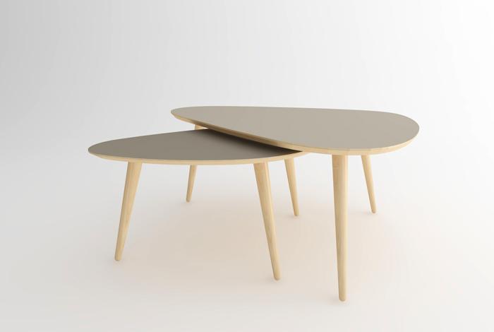 table basse gigogne style vintage made in france sur mesure. Black Bedroom Furniture Sets. Home Design Ideas