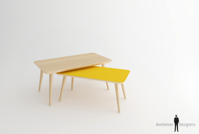 La table basse gentlemen designers - Creation table basse ...