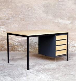 Bureau_bois_metal_4_tiroirs_mobilier_vintage_design_annee_50_60_gentlemen_designers_strasbourg_paris_lyon_vignette