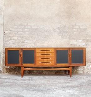 Enfilade_teck_meuble_scandinave_gris_noir_anthracite_3_tiroirs_4_portes_enfilade_mobilier_vintage_design_annee_50_60_gentlemen_designers_strasbourg_paris_lyon_vignette