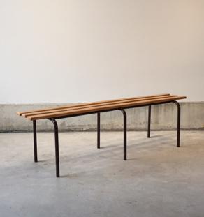 Banc_ecole_bois_metal_petit_mobilier_vintage_design_annee_50_60_original_gentlemen_designers_strasbourg_alsace_paris_lyon_vignette