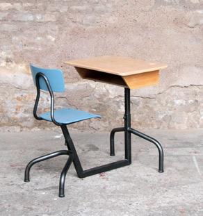 Bureau_ecolier_ancien_bois_metal_bleu__vintage_mobilier_design_annee_50_60_original_gentlemen_designers_strasbourg_alsace_paris_lyon_vignette