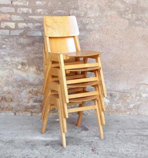 Chaise_empilable_lot_pieds_compas_restaurant_bois_mobilier_vintage_design_annee_50_60_original_gentlemen_designers_strasbourg_alsace_paris_lyon_vignette