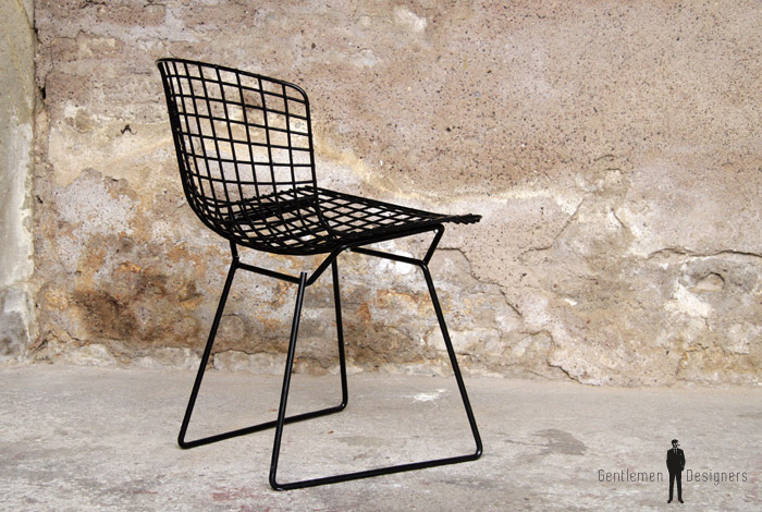 1 chaise vintage harry bertoia knoll international gentlemen designers. Black Bedroom Furniture Sets. Home Design Ideas