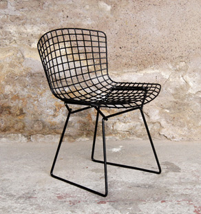 chaise bertoia knoll chaise bertoia knoll charmant coussin chaise bertoia belle harry bertoia. Black Bedroom Furniture Sets. Home Design Ideas
