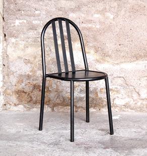 Chaise_noir_gris_metal_mallet_stevens_27_mobilier_vintage_design_annee_50_60_gentlemen_designers_strasbourg_paris_lyon_vignette
