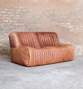 Canape_togo_desede_cuir_brun_2_place_scandinave_mobilier_vintage_design_annee_50_60_original_gentlemen_designers_strasbourg_alsace_paris_lyon_vignette
