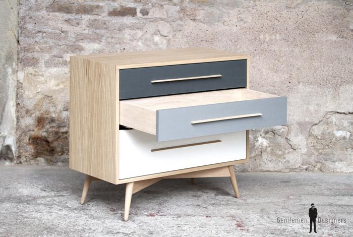 commode meuble style vintage bois fabrication fran aise sur mesure. Black Bedroom Furniture Sets. Home Design Ideas