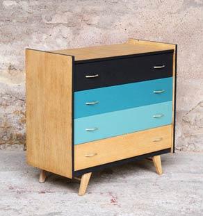 Commode_4_tiroirs_bleu_bois_vintage_design_annee_50_60_fabriquer_sur_mesure_france_made_in_gentlemen_designers_strasbourg_alsace_lyon_francais_vignette