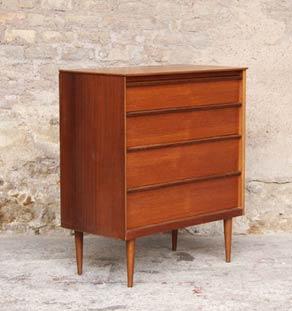 commode vintage scandinave en teck gentlemen designers. Black Bedroom Furniture Sets. Home Design Ideas