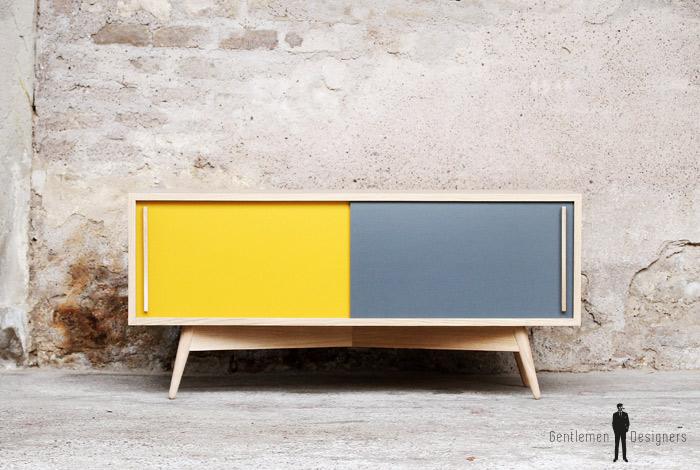 enfilade scandinave tv bas made in france scandinave. Black Bedroom Furniture Sets. Home Design Ideas