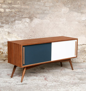 Gentlemen designers meubles style scandinave made in for Meuble salon retro