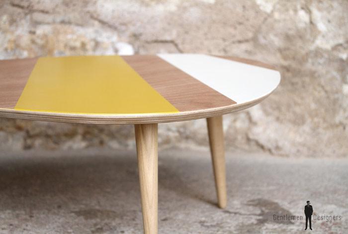 table basse jaune scandinave. Black Bedroom Furniture Sets. Home Design Ideas