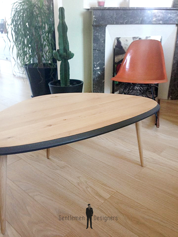 Une table en ch ne de caract re gentlemen designers - Ceruser une table en chene ...