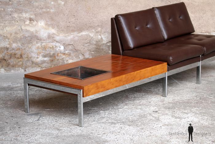 banquette 2 places vintage scandinave enti rement r nov. Black Bedroom Furniture Sets. Home Design Ideas