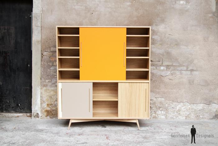 buffet vaisselier chene clair fabriqu en france style. Black Bedroom Furniture Sets. Home Design Ideas