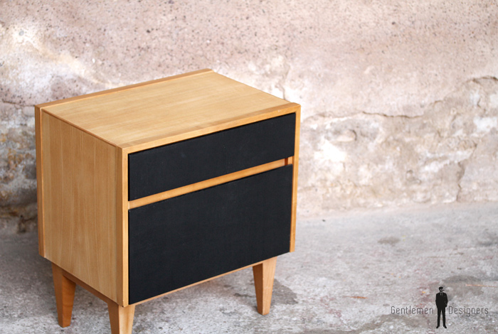 chevet en bois table de nuit crativu puis previous table. Black Bedroom Furniture Sets. Home Design Ideas