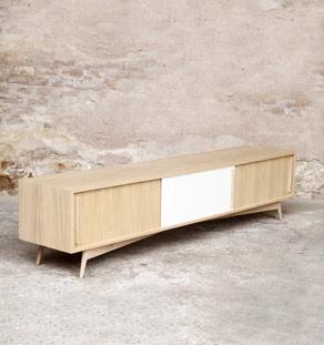 GD_meuble_tv_enfilade_220_45_35_blanc_bois_mobilier_vintage_sur_mesure_design_annee_50_60_fabriquer_france_made_in_gentlemen_designers_strasbourg_alsace_francais_vignette