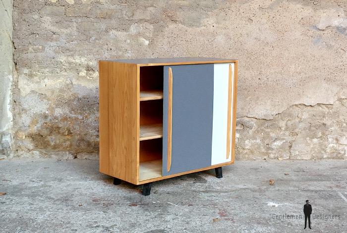 Vintage » Petits meubles » Meuble vintage bois portes ...