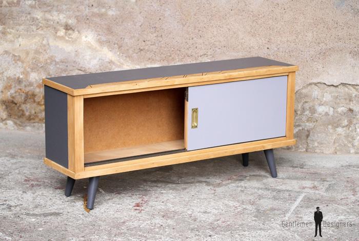 meuble tv bas vintage twist – Artzein.com