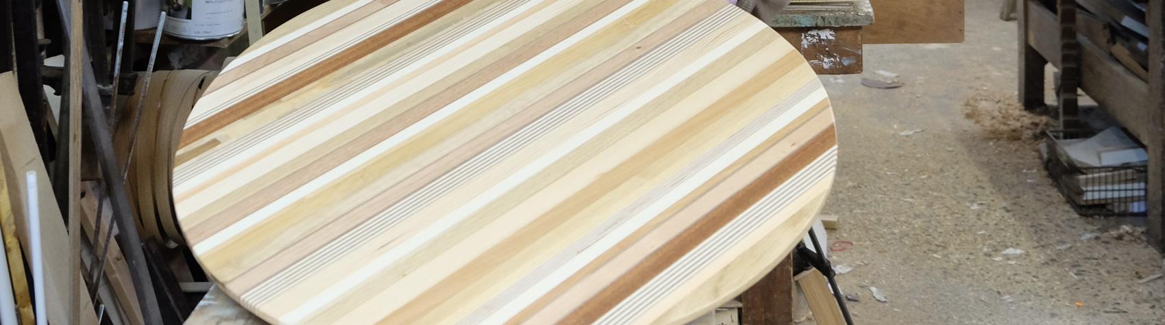 Les meubles en chutes de bois