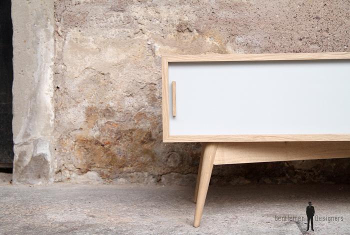petit meuble tv bas scandinave made in france. Black Bedroom Furniture Sets. Home Design Ideas