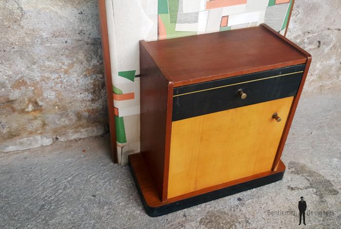meuble entr e vintage graphique miroir vide poche porte manteau. Black Bedroom Furniture Sets. Home Design Ideas