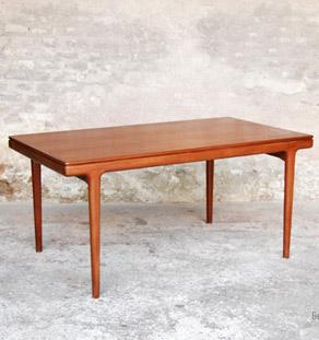 Table à manger scandinave teck, Andersen, Danemark gentlemen designers