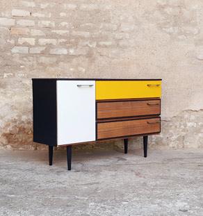 Gentlemen designers meuble vintage et cr ation sur mesure for Meubles concept lyon