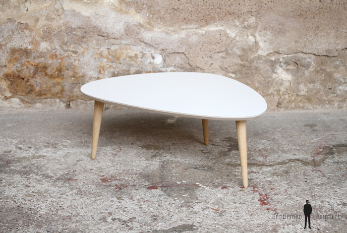 Creation sur mesure table basse tripode 80x55 tbt st 02 for Table basse tripode gigogne