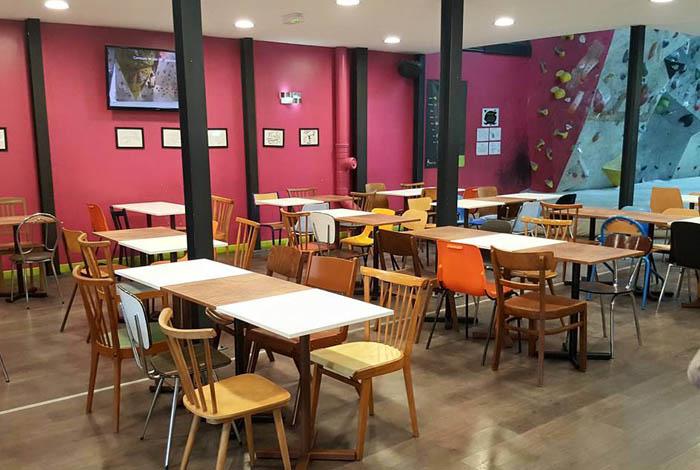 Salle d escalade d coration int rieur mobilier vintage for Mobilier salle a diner