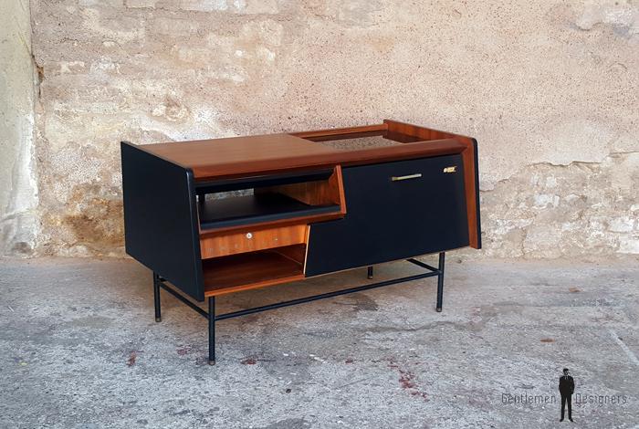 affordable meuble vintage teck radio dtourn philips annes gentlemen designers with magasin meuble vintage paris
