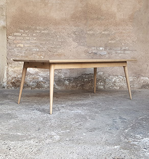 table_rallonge_chene_massif_mobilier_vintage_sur_mesure_creation_design_annee_50_60_fabriquer_france_made_in_gentlemen_designers_strasbourg_alsace_francais_vignette