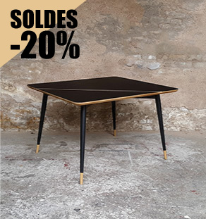 table_noir_chene_clair_vintage_bois_retro_design_annee_50_60_70_unique_original_gentlemen_designers_strasbourg_paris_alsace_handschuheim_bas-rhin_france_vignette