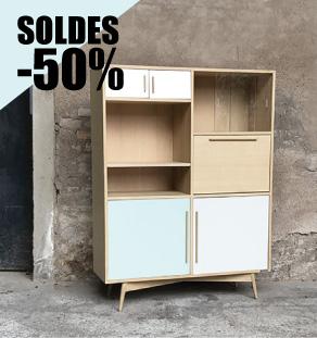 Buffet_secrétaire_bleu_blanc_gris_mobilier_vintage_sur_mesure_creation_design_annee_50_60_fabriquer_france_made_in_gentlemen_designers_strasbourg_alsace_francais_vignette