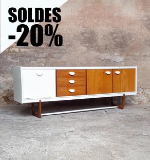 Enfilade_buffet_scandinave_vintage_teck_clair_blanc_poignee_gentlemen_designers_strasbourg_store_alsace_paris_lyon_vignette