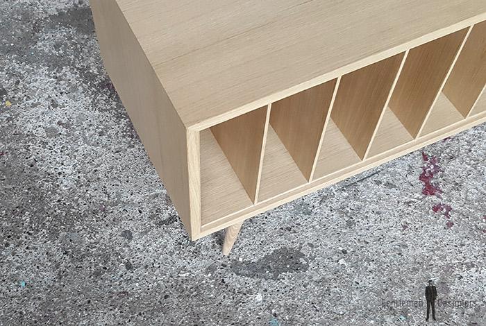 creation sur mesure meuble vinyle ch ne ref mv c 04. Black Bedroom Furniture Sets. Home Design Ideas