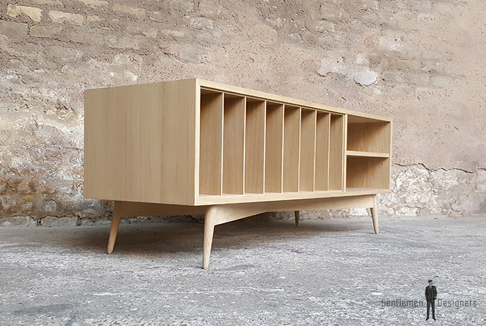 Meuble vinyle ch ne produit d exposition destockage 30 for Made france meuble
