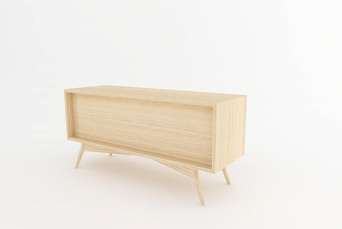 Meuble vinyles style vintage creation sur mesure - Creation de meuble sur mesure ...