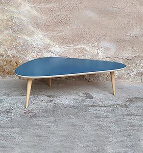 table_basse_tripode_bleu_vintage_unique_original_gentlemen_designers_strasbourg_paris_alsace_handschuheim_bas-rhin_france-vignette