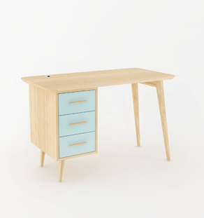 Bureau sur-mesure made in france vintage
