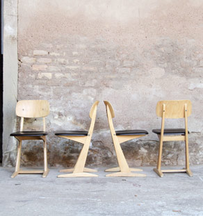 Chaise vintage casala gentlemen designers