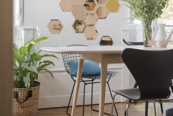 déco vintage ambiance table sur mesure rallonge