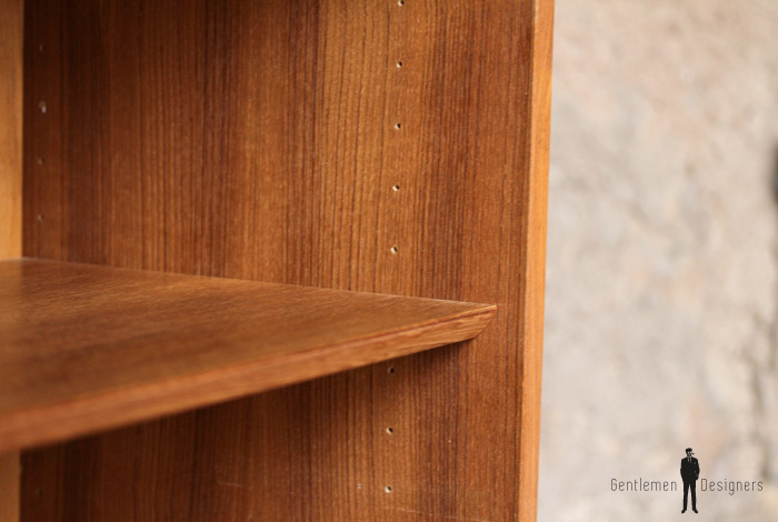 meuble de rangement tag res vintage scandinave en teck gentlemen designers. Black Bedroom Furniture Sets. Home Design Ideas