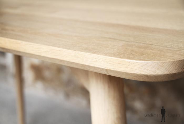 Table sur mesure Chêne massif Gentlemen designers