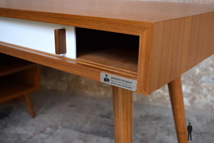 Bureau scandinave meuble style vintage fabrication française