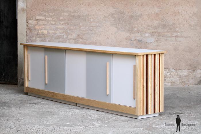 meuble de m tier bar comptoir buffet enfilade vaisselier. Black Bedroom Furniture Sets. Home Design Ideas