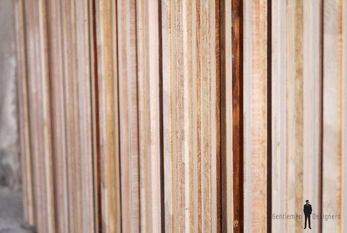 Comptoir bar bois grand ancien atypique original porte