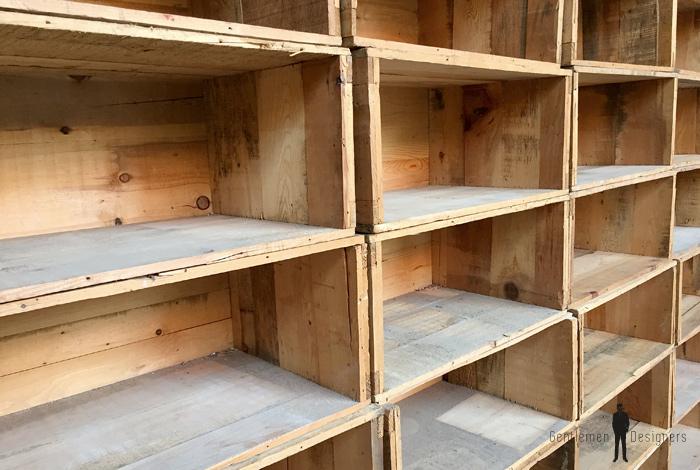 38 Caisses anciennes en bois massif, transport, vin, fruit… grand modele