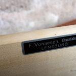 Enfilade buffet scandinave vintage en teck signé, Woodtly